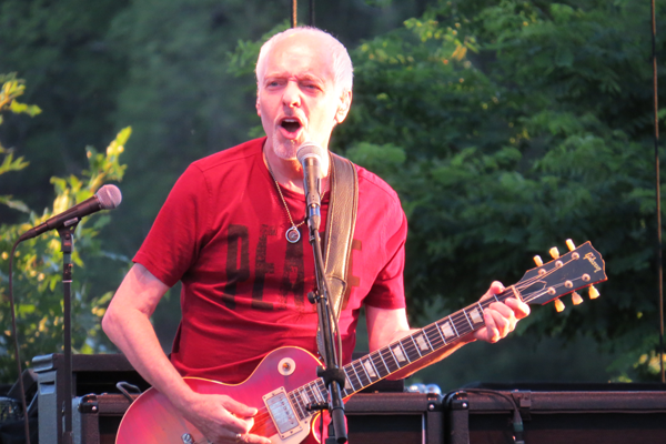 Peter Frampton on stage at Artpark. (File photo)