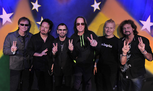 Ringo Starr & His All Starr Band perform Tuesday at Artpark in Lewiston.