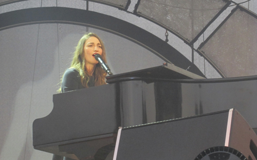 Sara Bareilles performed Wednesday at Artpark.