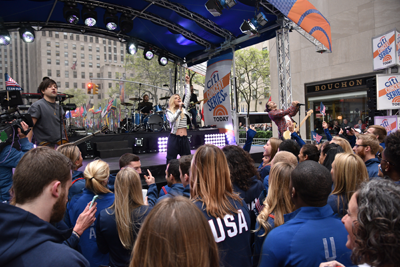 "The Band Perry on ""Today."""