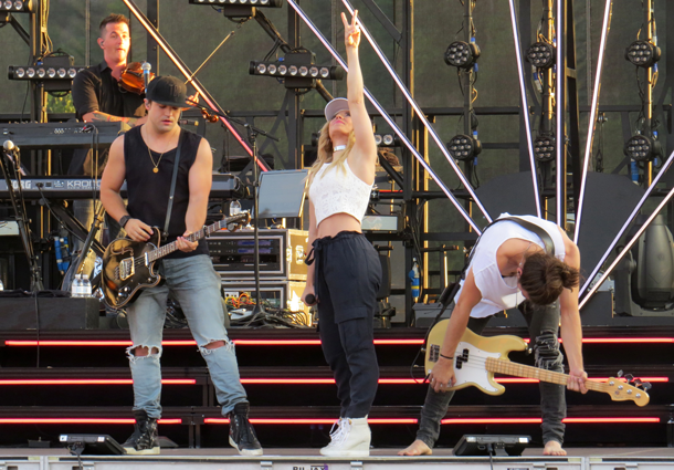 Neil, Kimberly and Reid: The Band Perry performs at Artpark
