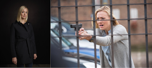 """24: Live Another Day"": Yvonne Strahovski as Kate Morgan. Watch her each Monday at 9 p.m. on FOX. (photos by Daniel Smith/FOX)"