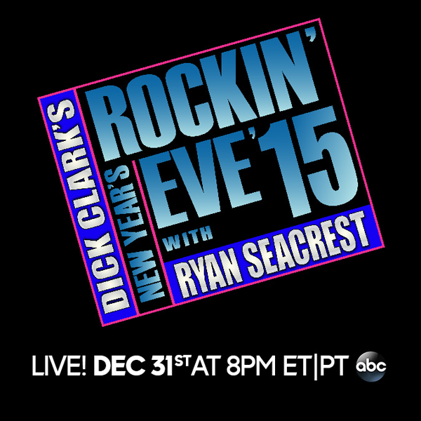 `New Year's Rockin' Eve with Ryan Seacrest 2015` airs Dec. 31 on ABC.