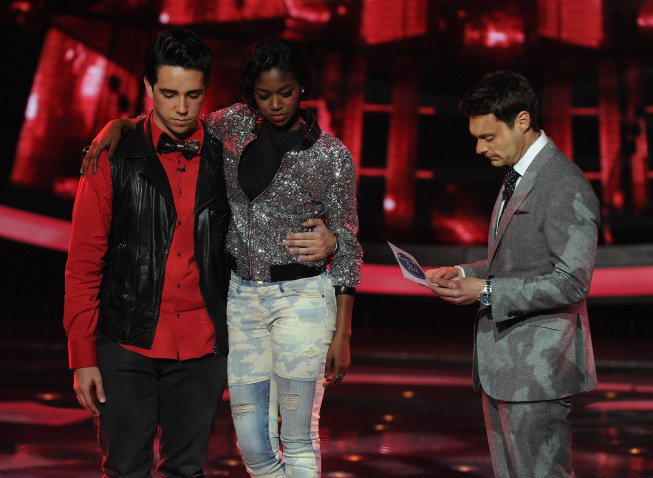 `American Idol`: Lazaro Arbos was eliminated on Thursday. (FOX photo by Ray Mickshaw/ copyright: FOX)