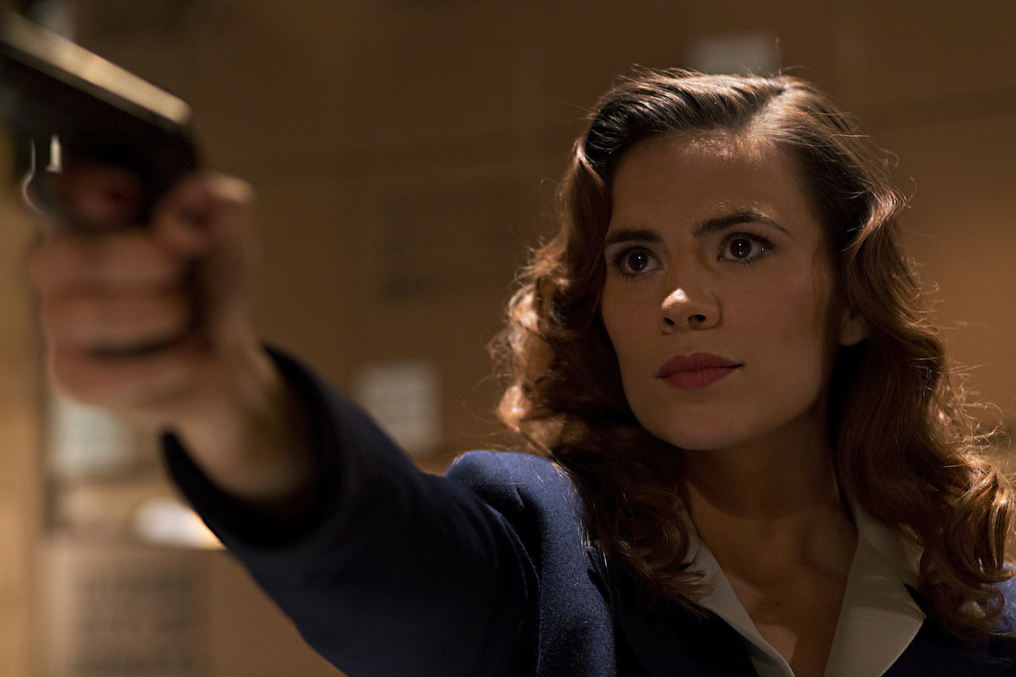 `Marvel's Agent Carter`: ABC's `Marvel's Agent Carter,` starring `Captain America's` Hayley Atwell, follows the story of Peggy Carter. (Marvel photo by Katrin Marchinowski)