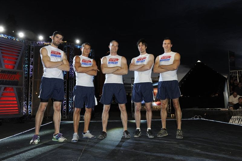 Team USA members, pictured from left, are James McGrath, Brent Steffensen, Brian Arnold, Paul Kasemir and Travis Rosen.