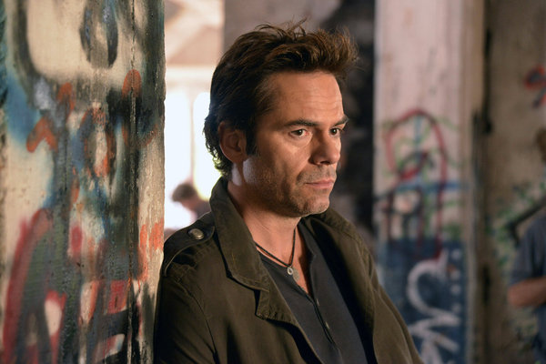 Billy Burke plays Miles Matheson on `Revolution.` The season one finale airs tonight at 10 p.m. (NBC photo by Brownie Harris)