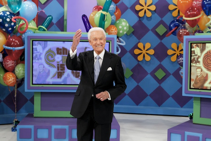 Bob Barker on `The Price Is Right.` (CBS photo)