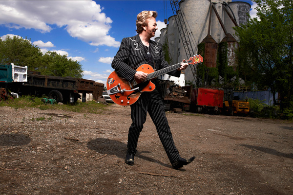 'The Brian Setzer Orchestra Christmas Rocks Extravaganza' (photo courtesy of UBCFA)