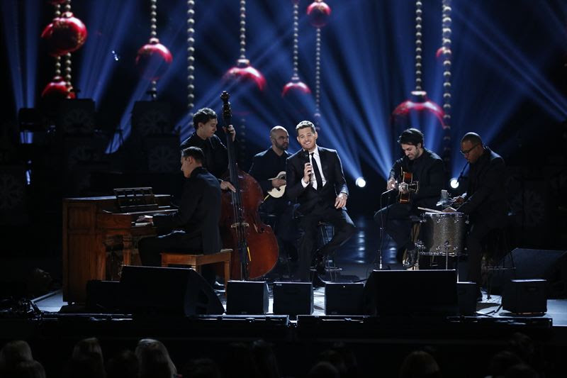 `Michael Bublé's Christmas in New York` (NBC photo)