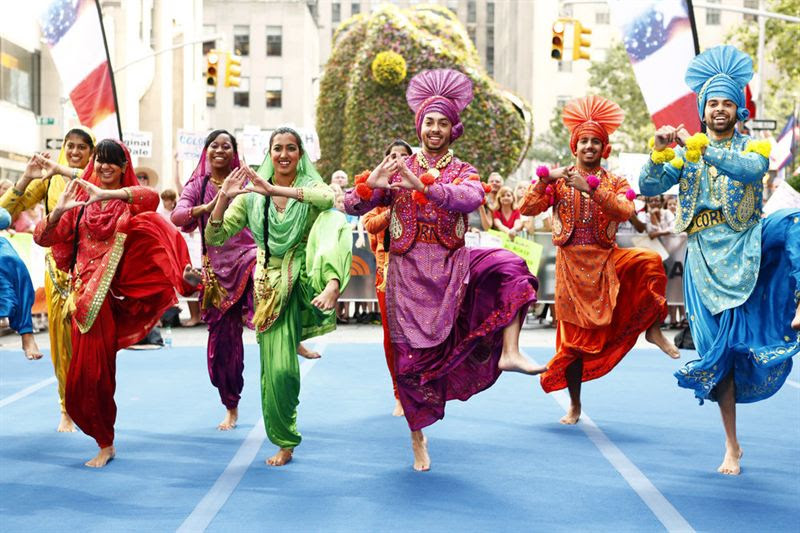 Cornell Bhangra (NBC photo)
