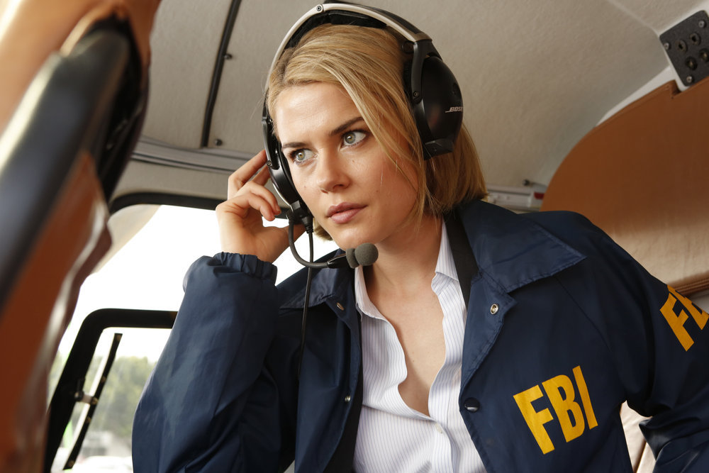 `Crisis`: Rachael Taylor stars as Agent Susie Dunn. (NBC photo by Vivian Zink)