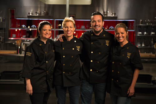 16 Culinary All Stars Compete In First Ever Cutthroat
