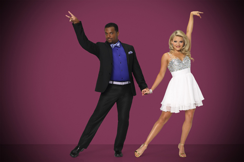 `Dancing with the Stars`: Alfonso Ribeiro and Witney Carson. The stars grace the ballroom floor for the first time on live national television with their professional partners during the two-hour season premiere, which airs Monday, Sept. 15 (8 p.m.) on the ABC Television Network. (ABC photo by Craig Sjodin)
