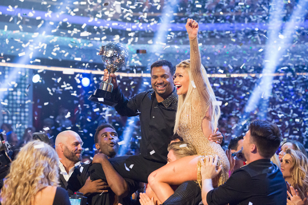 `Dancing with the Stars`: Alfonso Ribeiro and Witney Carson were crowned the season 19 champions on the season finale Tuesday on ABC. (photo by Kelsey McNeal/ABC)