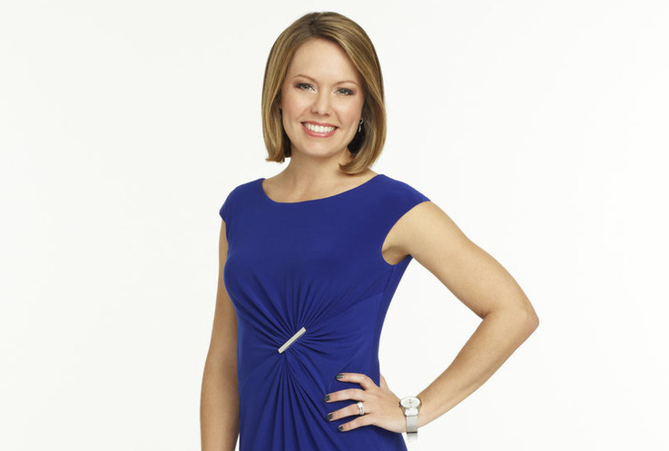 NBC News and `Weekend Today` meteorologist Dylan Dreyer. (NBC photo by Heidi Gutman)