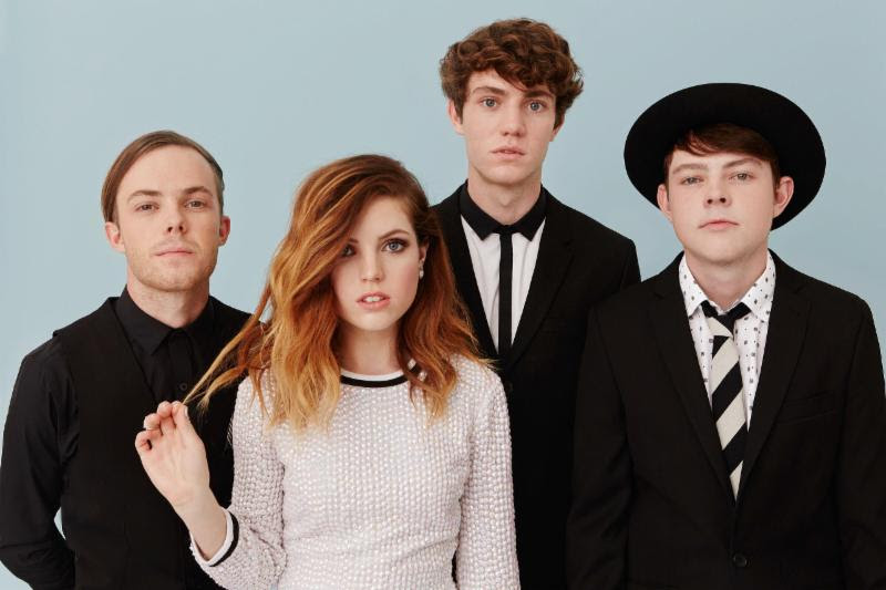 Echosmith's Sierota siblings are Jamie (vocals/guitar), Sydney (vocals/keyboard), Noah (vocals/bass) and Graham (drums).