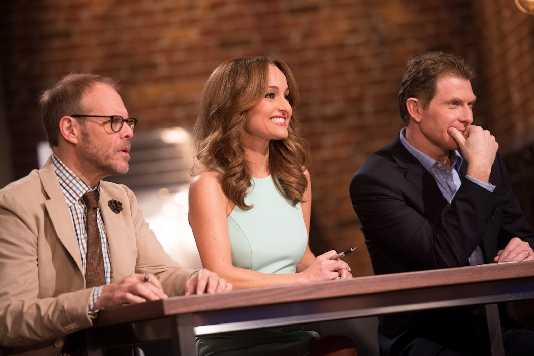 Alton Brown, Giada De Laurentiis and Bobby Flay return as mentors/judges. (Food Network photo)