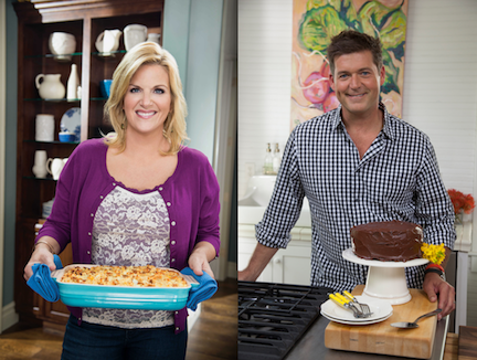 Trisha Yearwood and Jamie Deen are back with new episodes of `Trisha's Southern Kitchen` and `Home for Dinner with Jamie Deen,` respectively. (Food Network photos)