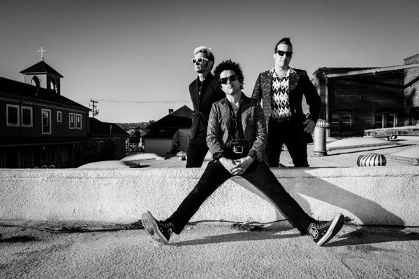 Green Day (Photo by Frank Maddocks)