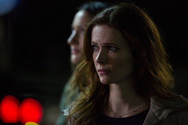 `Grimm` Bitsie Tulloch (front) stars as Juliette Silverton. In the background is Bree Turner as Rosalee Calvert. (NBC photo by Scott Green)