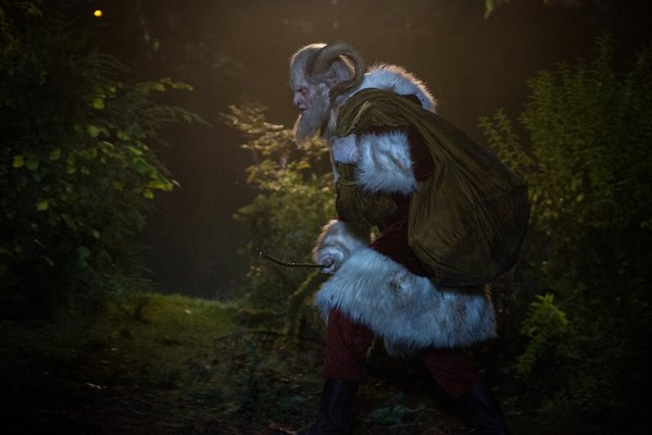`Grimm`: Derek Mears stars as Krampus in the episode `12 Days of Krampus,` airing Friday, Dec. 13. (NBC photo by Scott Green)