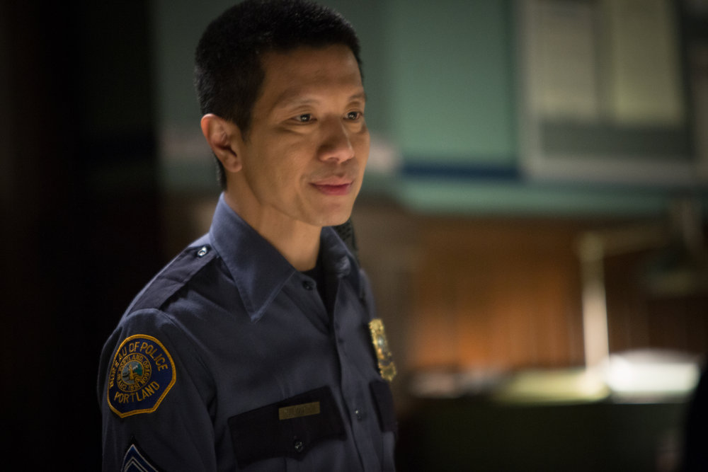 `Grimm` episode `Mommy Dearest`: Reggie Lee as Sgt. Wu. (NBC photo by Scott Green)