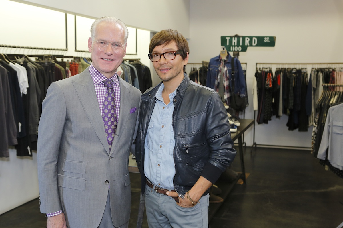 Tim Gunn and Ken Paves (NBC photo)