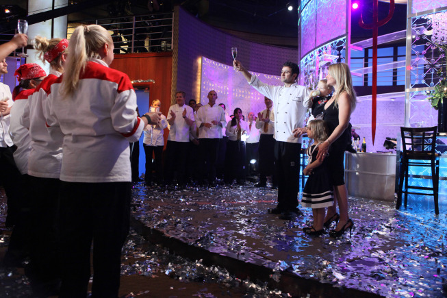 `Hell's Kitchen`: Contestant Scott Commings won Thursday. (FOX photo by Patrick Wymore)