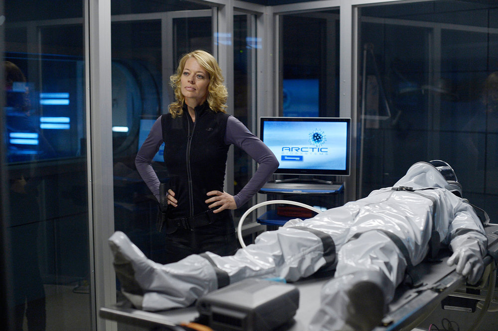 `Helix`: Pictured in the Feb. 21 `Bloodline` episode of `Helix` is Jeri Ryan as Constance Sutton. (Syfy photo by Philippe Bosse)