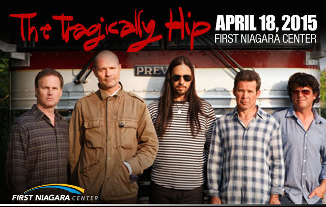 The Tragically Hip (photo courtesy of First Niagara Center)