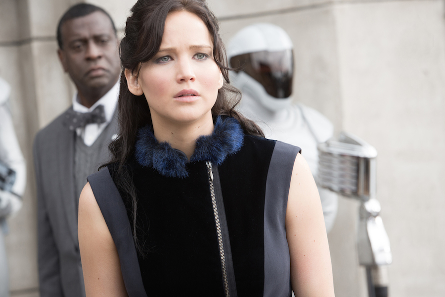 Jennifer Lawrence (`Katniss Everdeen`) stars in Lionsgate Home Entertainment's `The Hunger Games: Catching Fire.` (Lionsgate photo by Murray Close)