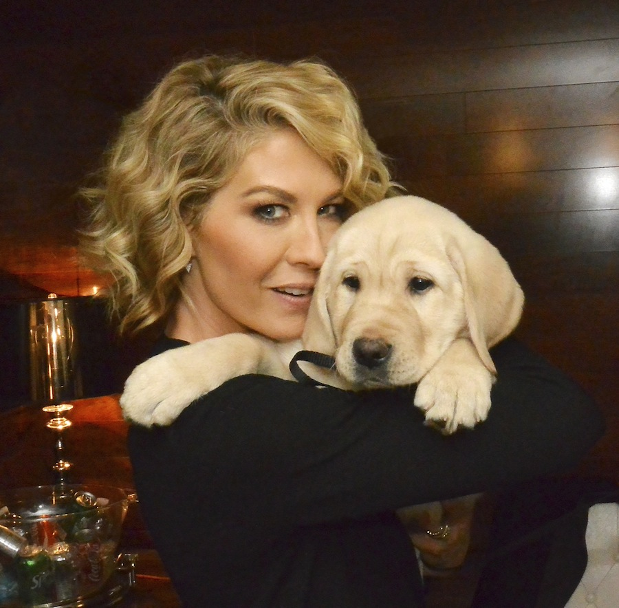 Jenna Elfman with Guf