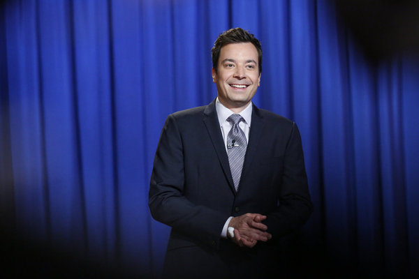 `Late Night with Jimmy Fallon`: Pictured is Jimmy Fallon. (NBC photo by Lloyd Bishop)