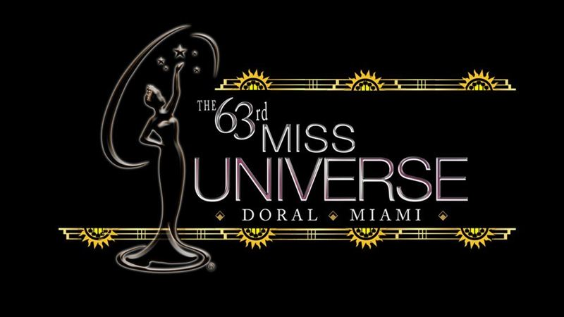 The 63rd Annual Miss Universe Pageant (NBC logo)