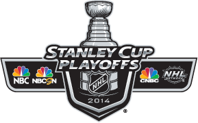 The NHL on NBC (NBCSN logos)