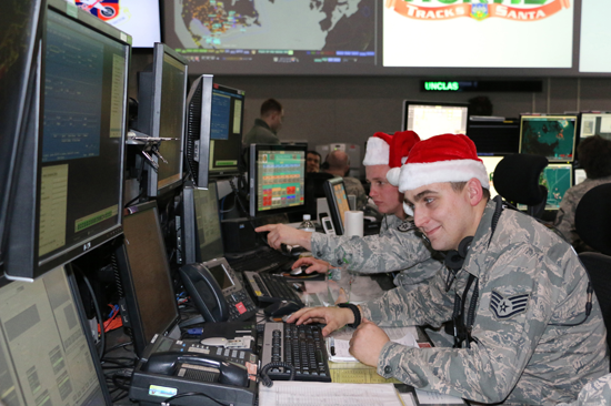 Each year, NORAD supports Santa Claus' Christmas Eve operations.