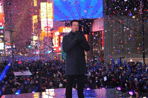 Carson Daly is back to ring in the new year on NBC.