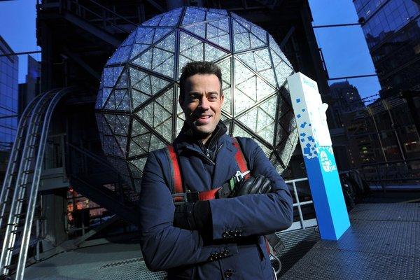 `New Year's Eve with Carson Daly: Pictured is Carson Daly. (NBC photo by Theo Wargo)