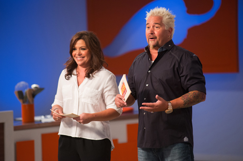 Rachael Ray and Guy Fieri (Food Network photo)
