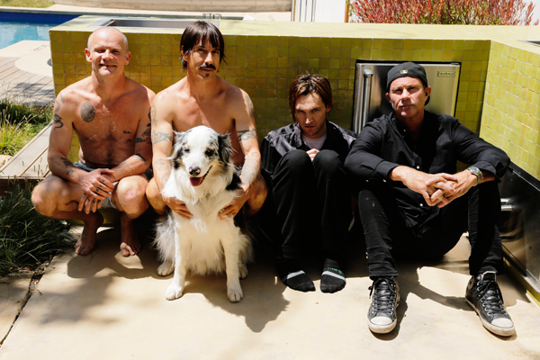 Red Hot Chili Peppers (Photo by Steve Keros)