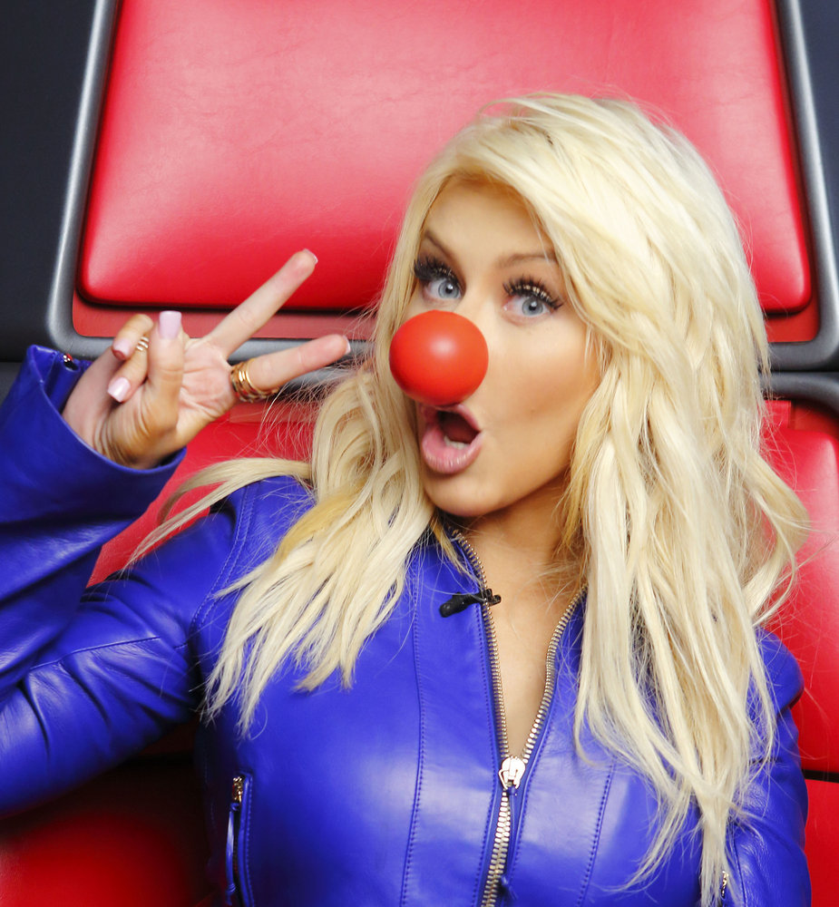 `Red Nose Day`: Christina Aguilera. (NBC photo by Trae Patton)
