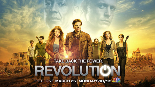 `Revolution` returns Monday, March 25, at 10 p.m. on NBC. (NBC key art)