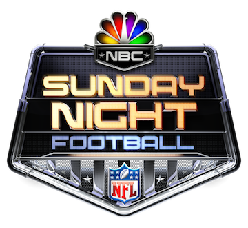 `Sunday Night Football` (NBC logo)