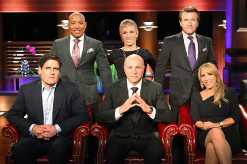 `Shark Tank`: Meet `The Sharks`: Mark Cuban, Daymond John, Barbara Corcoran, Kevin O'Leary, Robert Herjavec and Lori Greiner. (ABC photo by Adam Taylor)