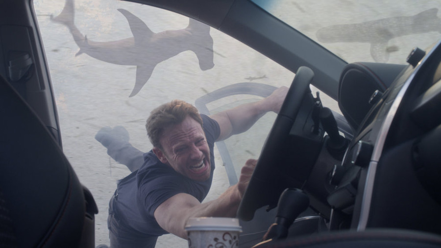 `Sharknado 3: Oh Hell No!` Pictured: Ian Ziering as Fin Shepard. (Syfy photo)