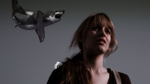 `Sharknado`: Aubrey Peeples as Claudia. (Syfy photo)