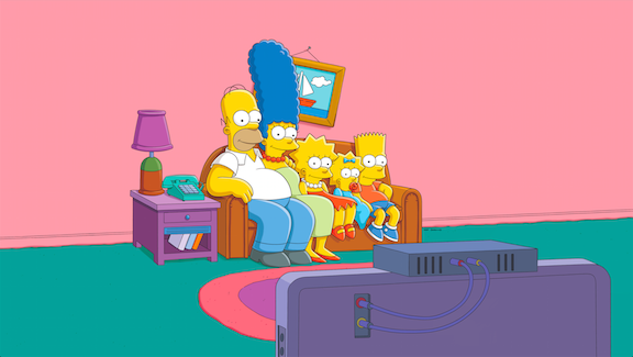`The Simpsons`: The Simpson family. (FOX photo ©2013 TCFFC All rights reserved. ©FOX Broadcasting)