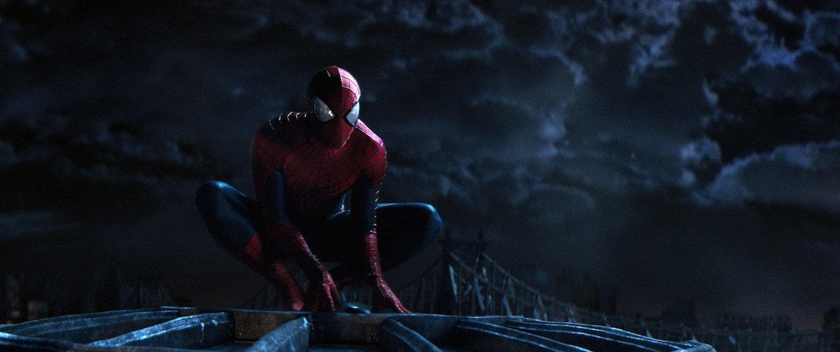 `The Amazing Spider-Man 2`: Andrew Garfield stars in Columbia Pictures' `The Amazing Spider-Man 2,` also staring Emma Stone. (Photo courtesy of Columbia Pictures. ©2013 CTMG. All Rights Reserved.)