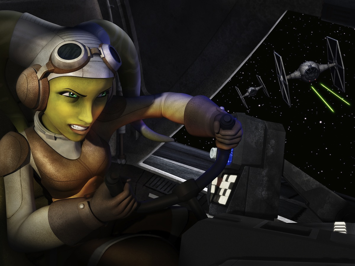 `Star Wars Rebels`: Meet Hera, the pilot. `Star Wars Rebels` is scheduled to premiere this fall as a one-hour special telecast on Disney Channel, and will be followed by a series on Disney XD channels around the world. (Lucasfilm image)